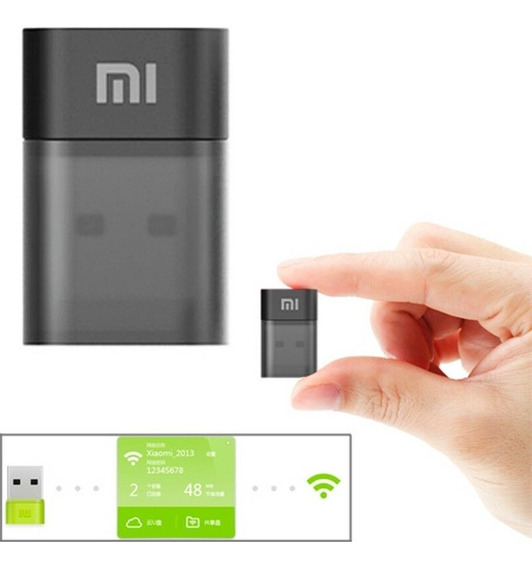 Adaptador Nano Xiaomi Usb Wireless Wifi Mini 150mbps