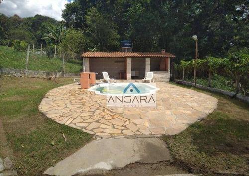Imagem 1 de 20 de Chacara De Pequeno Porte Em Santa Isabel - Ch0012