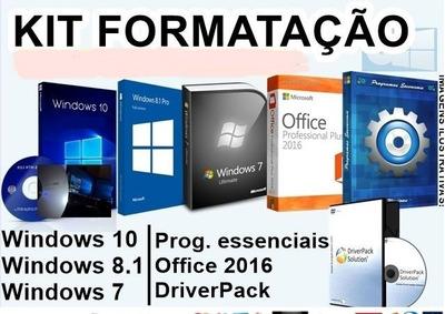 Kit Formatação Para Técnico Em Informática