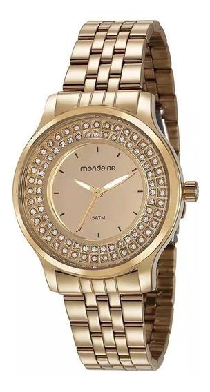 Relógio De Pulso Feminino Mondaine 99266lpmvde1
