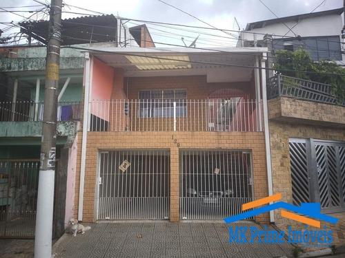 Casa Assobradada No Jaguaribe Excelente Localização, Aceita Financiamento!! - 690
