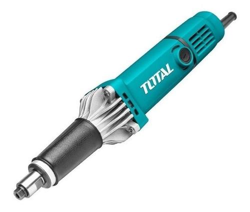 Imagen 1 de 2 de Amoladora recta Total Tools TG504062 de 50Hz/60Hz celeste 400W 220V - 240V