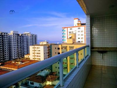 Apartamento A Venda No Bairro Vila Tupi Em Praia Grande - - 121-1
