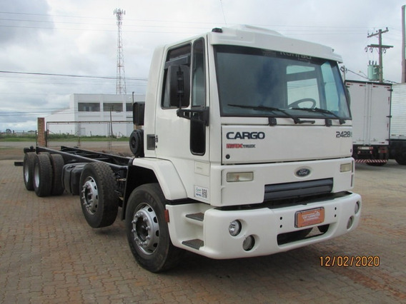 Ford Cargo 2428 8x2 Bitruck 4º Eixo Direcional - No Chassi
