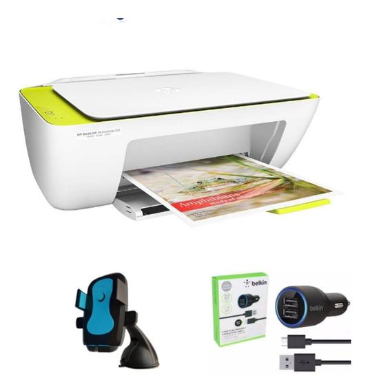 Impressora Colorida Hp 2136 + Kit Veicular