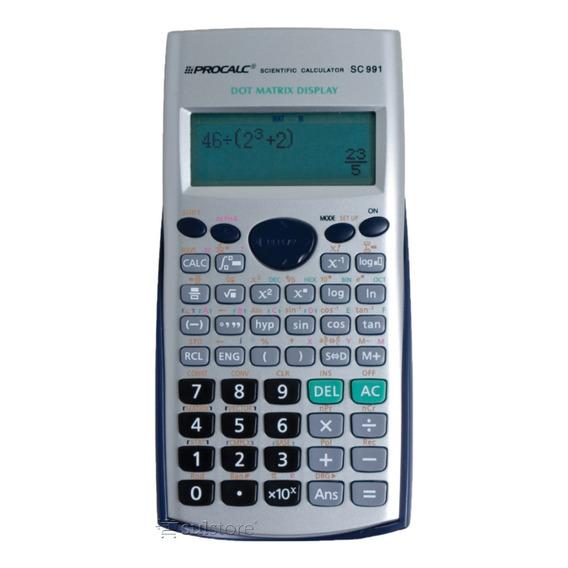 Calculadora Científica Procalc Sc991 403 Funções Com Capa