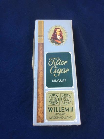 Caja De Cigarrillos Vacia Willem 2/made In Holland Vacia