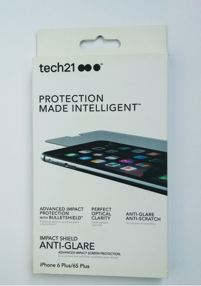 Mica Teléfono Tech21 Impact Shield: Anti-glare iPhone 6plus / 6s Plus