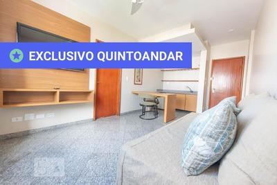 Apartamento No 3º Andar Mobiliado Com 1 Dormitório E 1 Garagem - Id: 892876672 - 176672