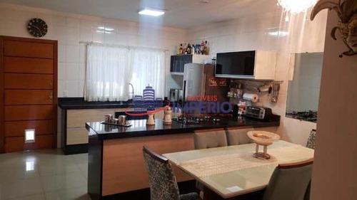 Sobrado Com 3 Dorms, Gopoúva, Guarulhos - R$ 590 Mil, Cod: 7074 - V7074