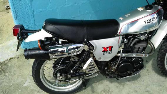 Yamaha Xt 500 1981