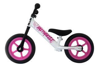 Bicicleta Pré Bike Branco Com Rosa- Fastwheels Pre Bike