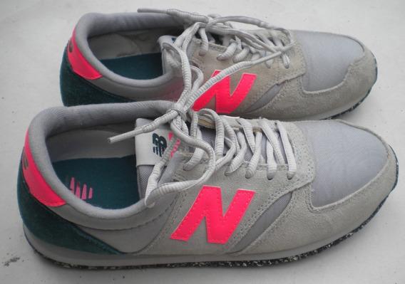 Zapatillas New Balance 420 Dama T/35,5/36,5 Ar Originales