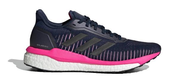 adidas Zapatillas Running Mujer Solar Drive 19 Marino - Rosa