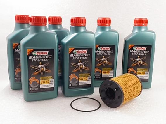 Troca Oleo Passat Cc 09/12 3.6 6c 300cv Fsi +filtro Original