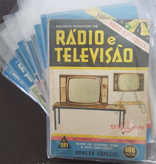 Revista Monitor De Rádio E Televisão - 20 Revistas