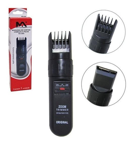 Maquina Para Cortar Cabelo / Barbeador A Pilha