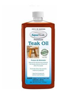 Aquateak Premium Aceite De Teca, Aceite Para Muebles Teka