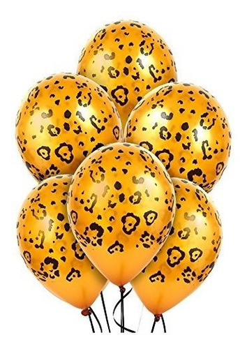 Imagen 1 de 1 de El Leopardo Mancha De Látex Globos Parte Accesoria.