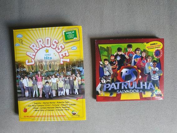 Carrossel Dvd Video Hits + Cd Patrulha Salvadora