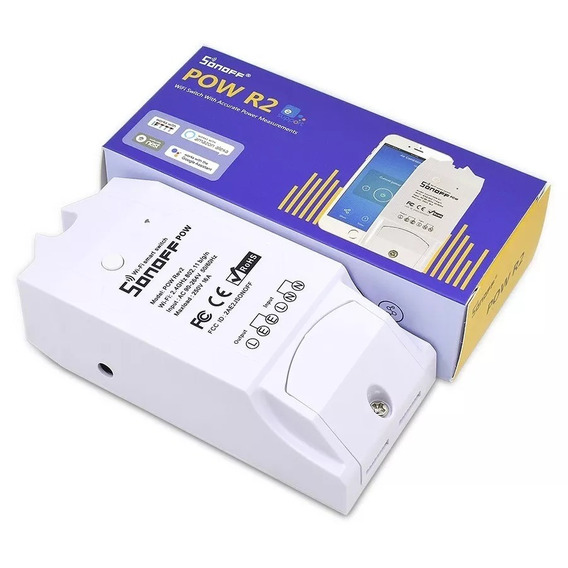 Sonoff Pow R2 Relé Medidor Energia, Tensão Google Home Alexa