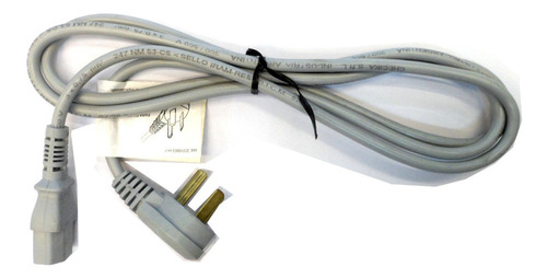 Cable Power Alimentación 1.8 M 220v Pc Monitor C13 3x0.75mm
