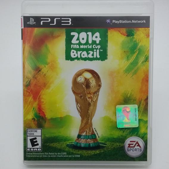 Copa Do Mundo Fifa Brasil 2014 Ps3 Mídia Física Perfeito