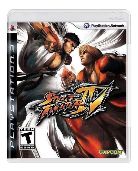 Street Fighter Iv Ps3 Mídia Física C/ Encarte Original