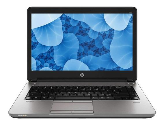 Notebook Hp Probook 640 Intel Core I5 4ª, 8gb Ddr3, Hd 500