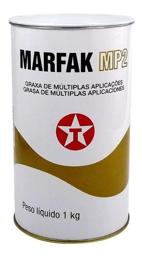 Grasa Litio Multi Propósito Marfak Mp2 Texaco Lata 1 Kg