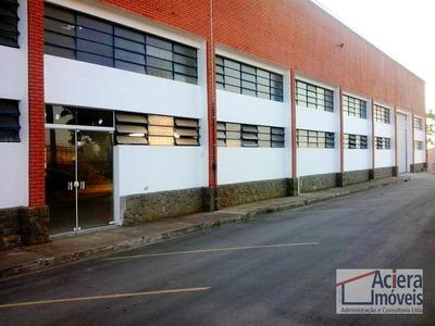 Galpão Industrial Para Locação, São Roque Da Chaves, Itupeva - Ga0379