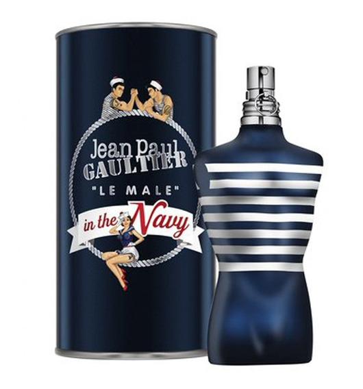 Jean Paul Gaultier Le Male In The Navy - Perfume Masculino Eau De Toilette 125ml