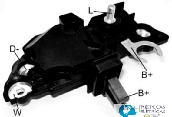 Regulador De Voltagem Ikro Ik 5204 - Ford Cargo