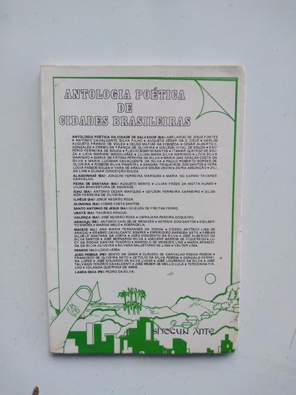 Livro - Antologia Poética De Cidades Brasileiras 1 - Ba Al P