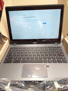 Laptop Acer Chromebook Visualización Táctil ( Touch )