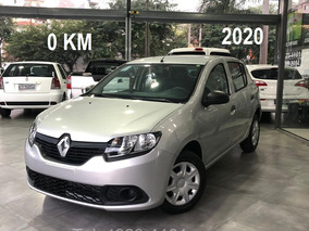 Renault Sandero 1.0 12v Sce Authentique 2019/2020 0 Km