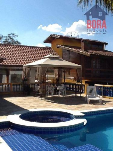 Chácara Com 3 Dormitórios À Venda, 2900 M² Por R$ 1.500.000 - Jardim Da Serra - Mairiporã/sp - Ch0215
