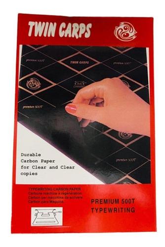 Papel Carbónico Azul O Negro Caja X 50u