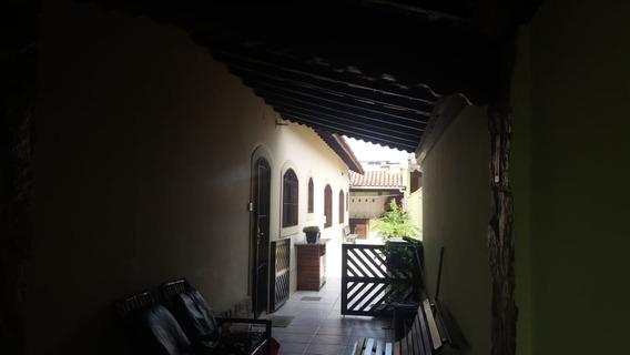 Linda Casa 2 Qtos/suite, 5 Gar,, Px.praia E Mercd R$ 280.mil