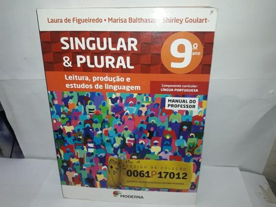 Livro Singular & Plural 9°ano Manual Do Professor Laura Figu