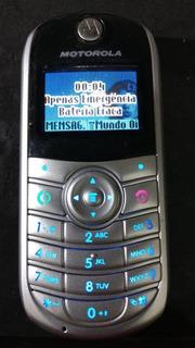 Celular Motorola C140, Ler Anuncio 1/18