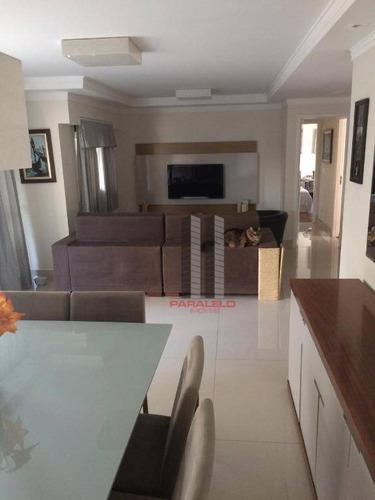 Apartamento Com 3 Dormitórios À Venda, 156 M² Por R$ 1.550.000 - Parque Da Mooca - São Paulo/sp - Ap2968
