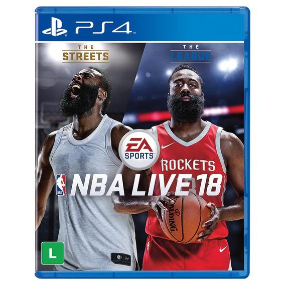 Jogo Nba Live 18 Para Playstation 4 (ps4) - Ea Sports