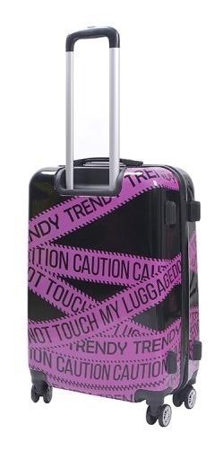 Valija Carry On N3 Trendy Estampado 8 Ruedas Spinner 26002