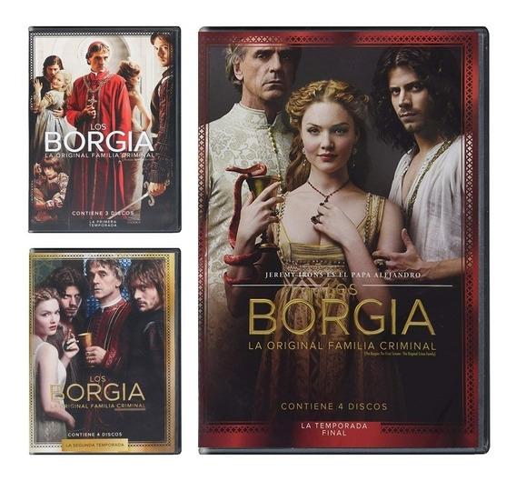 Los Borgia Temporada 1 Uno , 2 Dos Y 3 Tres Paquete Dvd