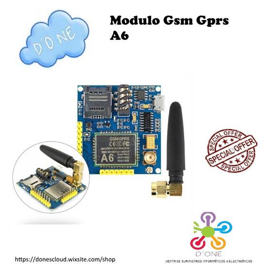 Modulo Gsm Gprs A6 Pro - Similar Al Sim 900 Arduino