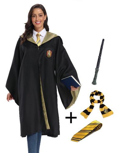 Imagen 1 de 5 de Disfraz Capa Potter 4 Casas Hogwarts Avenclaw