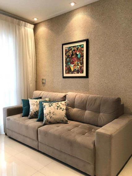 Apartamento Com 2 Dormitórios E Lazer Completo No Gonzaga. - V13404