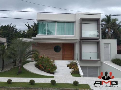 Casa Com 5 Dormitórios À Venda, 459 M² Por R$ 5.300.000,00 - Riviera - Módulo 21 - Bertioga/sp - Ca0317