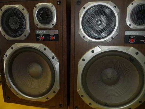 Sony Speaker System - Caixas De Som Raras